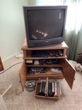 T.V., Stand, Games & More