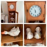 Clock / Display Cabinet