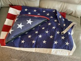 2 AMERICAN FLAGS