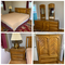 King Size Bed, Chest of Drawers, Dresser & Night Stand