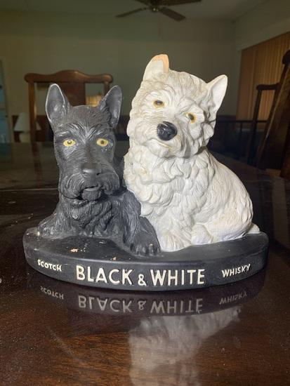 Scotch Black & White Whisky Composite Advertisement