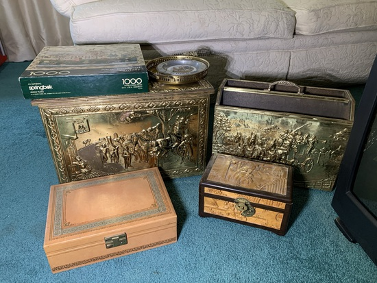 Jewelry Boxes, Magazine Holder, Puzzle and More
