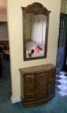 Entryway Cabinet and Mirror