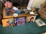 OSU Lamp, Records, Coffee Table, Decorative Items & More.  See Photos