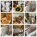 Bathroom Clean Out - Great Assortment of Frames, Decorative Items & More
