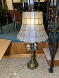 Shell Lamp Shade with Lamp