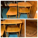 Bamboo Style Heywood-Wakefield Side Tables