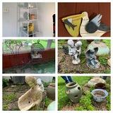 Cleanout Patio / Backyard Statues