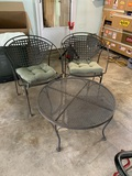 2 Chair Patio Set with Small Accent Table