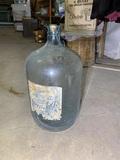 Glass Demijohn Bottle
