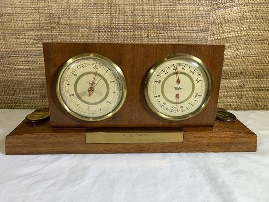 1952 IBM Hundred Percent Club Taylor Barometer.