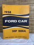 1958 Ford Car Shop Manual.