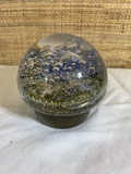 Vintage Kosta Signed Paperweight.  See Photos .