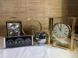 Vintage AirGuide Temperature Desktop Weather Station, Vintage Clocks & Light .