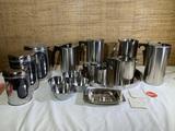 Danish Mid Century Modern Kitchenware - Stelton, Cylinda-Line, Bel, Lundtofte, Cromargan & More.