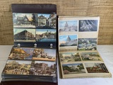 Group of Vintage Postcards in Albums.