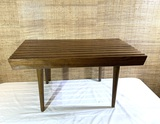 Mid Century Modern Sleek Wooden side table