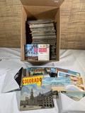 Vintage Travel Postcards .