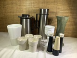 Group of MCM dining related items