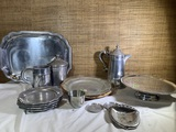 Group of Pewter Items by - York Metalcrafters, Wilton & Pewtarex.