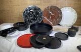 MCM Terskon Denmark Stamped Tray, Mebel, Villeroy & Boch Plates, Lenox Plate & More.