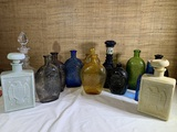 Large Group of Decanters.