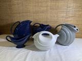 4 Hall Ceramic Pieces and 2 Unmarked Ceramic Pieces.