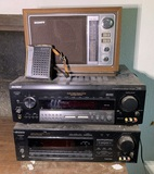 Group of Vintage Sony Electronics.