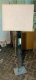 MCM Chrome floor lamp