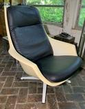 Unusual Mid Century Modern Plastic Shell Chair.