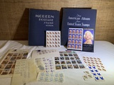 Stamps and Stamp Albums.