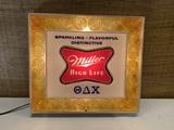 Vintage Miller High Life Beer Advertising Light.