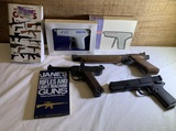 Group of BB Guns and Gun Books.