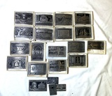 Pewter Postage Stamp Replicas by Dory
