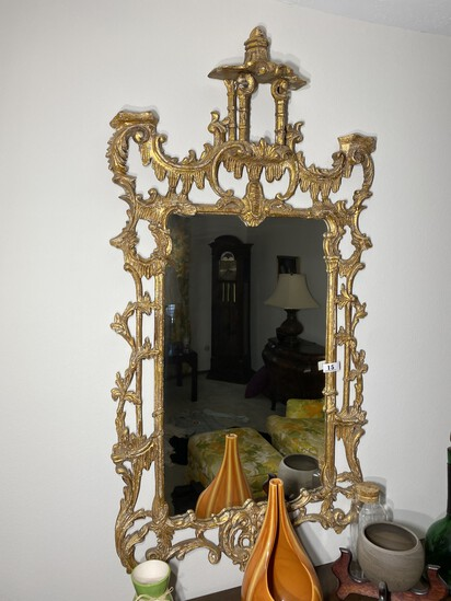 Large Sized Rococo Revival Mirror