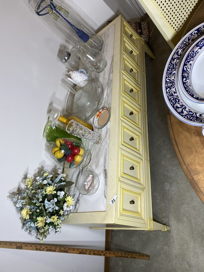 Large low French Provincial Server