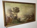 Vintage Oil on Board painting