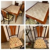 Tile Top Table and Four Chairs