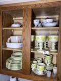 Cupboard lot of dishwares