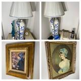 Lamps, prints andm ore
