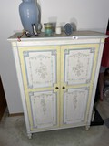 Vintage Armoire with many drawers