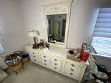 Large John Widdicomb dresser with mirror