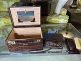 Vintage Portable Dressing Box
