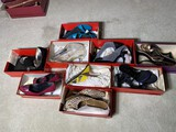 Group lot 9 pairs designer shoes