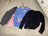 4 Woman's Sweater Tops