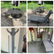Patio table and chairs, PLUS