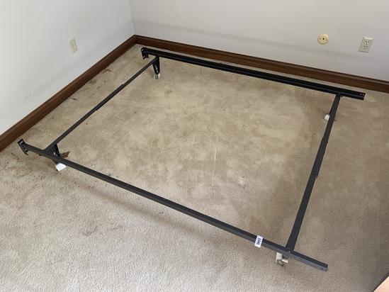 Full sized metal bed frame