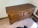 Vintage Ethan Allen cedar trunk or hope chest
