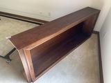 Nice large sized wooden bookshelf