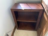 Smaller sized wooden bookshelf